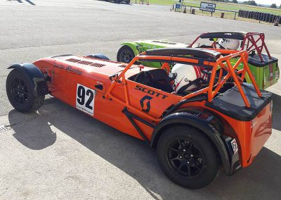 Caterham orange