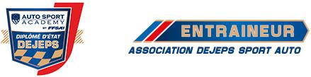 Logo DEJEPS Auto Sport Academy et Entraineur association Dejeps Sport Auto