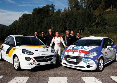 Test Échappement Mag by SCHATZ - Opel Adam R2 Performance & Peugeot 208 R2