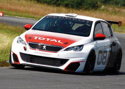 Test Échappement Mag by SCHATZ - Peugeot 308 Racing Cup