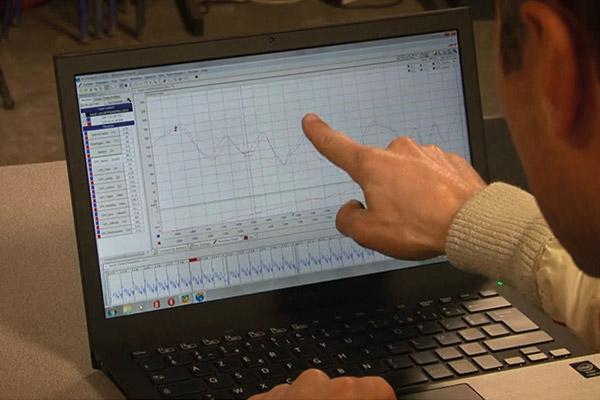 Nicolas Schatz étude des courbes Compétition circuit