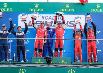 Podium Road To Le Mans 2019